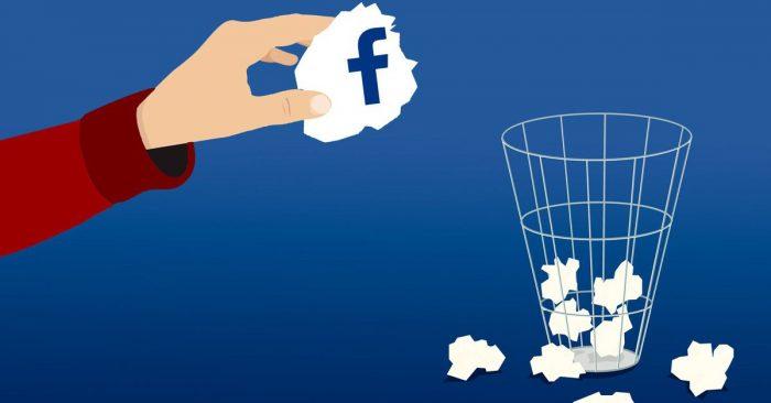 comment se désabonner de Facebook définitivement
