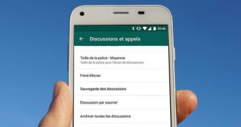 sauvegarde whatsapp android