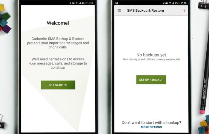 sms backup and restore application android