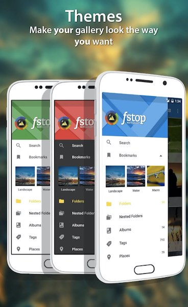 F-stop : application galerie photo sous Android