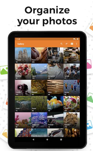 Galerie Simple : une application galerie photo Android simple
