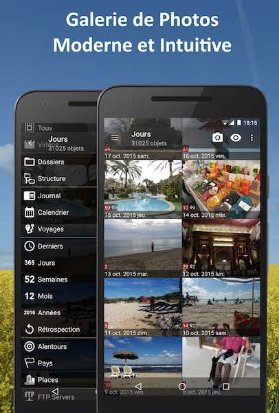 PhotoMap Gallery : application galerie photo sous Android