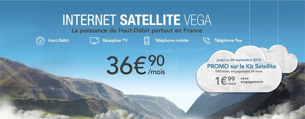 Internet par satellite Orange