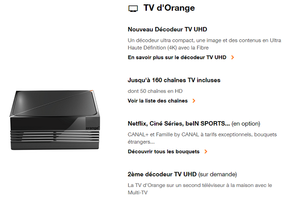 box orange 4k avis