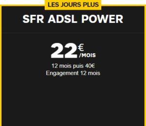 SFR ADSL offre tarif