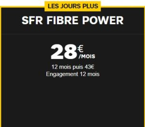 La formule Fibre Power SFR