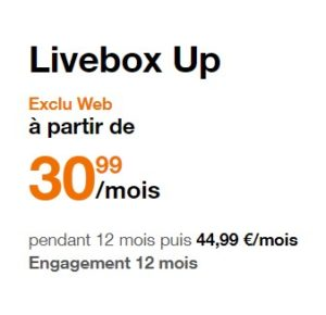 Livebox Up Orange opinion